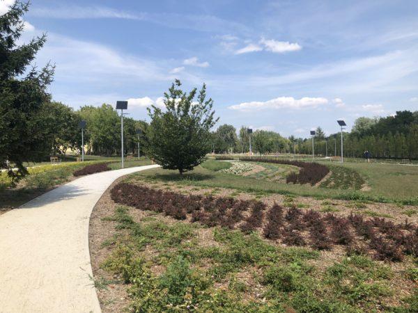 Nowy park miejski na poznańskim Dębcu