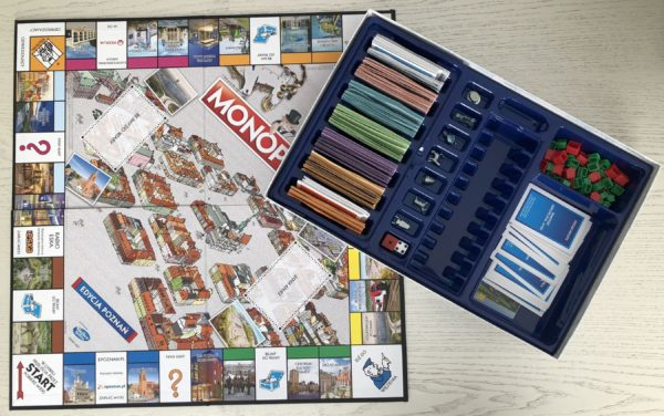 Monopoly Poznań. Czy znasz miejsca, które znajdują się na planszy?