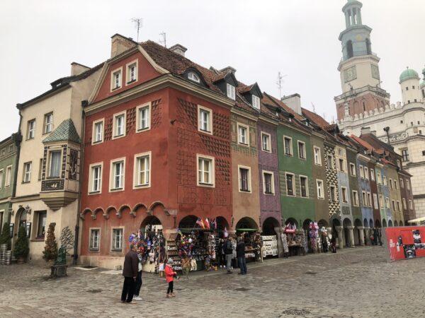 Kamieniczki Starego Rynku w Poznaniu cz. 1